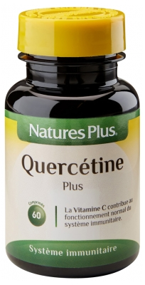 Natures Plus Quercetin Plus 60 Tablets