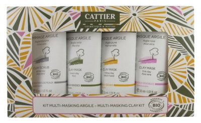 Cattier Kit Multi-Masking Argile