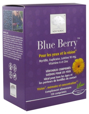 New Nordic Blue Berry 120 Tablets