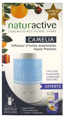 Naturactive Camelia High Pressure Essential Oils Diffuser + 1 Free Essential Oil 10ml