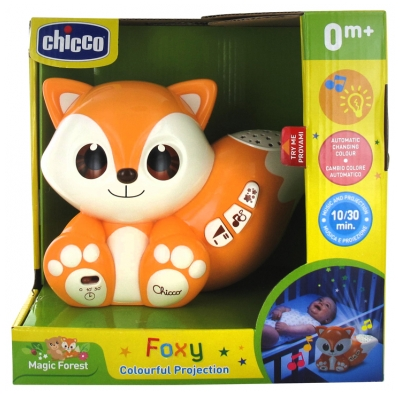 Chicco Magic Forest Foxy Colourful Projection 0 Mois et +
