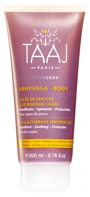 Taaj Abhyanga Blackcurrant Shower Gel 200ml