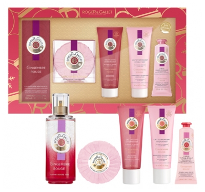 Roger & Gallet Gift Box 2020 Red Ginger