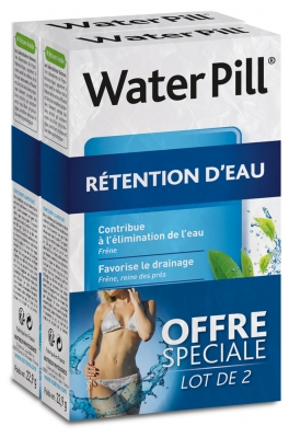 Nutreov Water Pill Rétention d'Eau Lot de 2 x 30 Comprimés