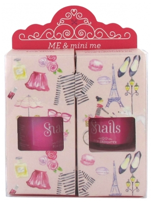 Snails Me & Me; Mini Me Pack Mom - Girl 2 Nagellack