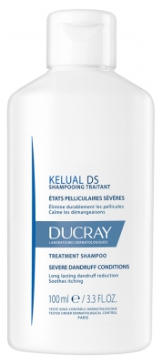 Ducray Kelual DS Treatment Shampoo Severe Dandruff Conditions 100ml
