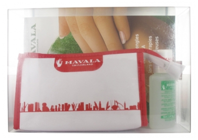 Mavala Pink Compartmentalized Kit