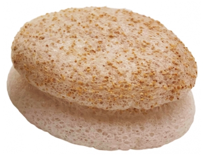 Lady Green Konjac Sponge Face 2in1 Walnut Chips