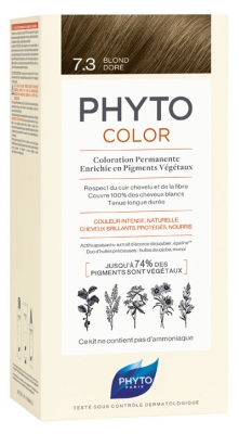 Phyto PhytoColor Permanent Color - Hair Colour: 7.3 Golden Blond