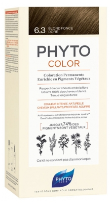 Phyto PhytoColor Permanent Color - Hair Colour: 6.3 Golden Dark Blond
