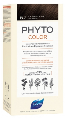 Phyto PhytoColor Permanent Color - Hair Colour: 5.7 Brown Light Chestnut