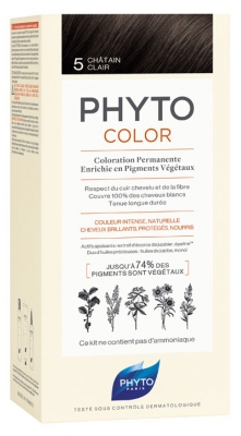 Phyto PhytoColor Permanent Color - Hair Colour: 5 Light Brown