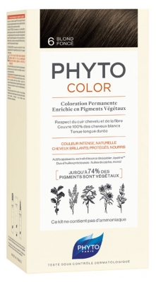 Phyto PhytoColor Permanent Color - Hair Colour: 6 Dark Blonde