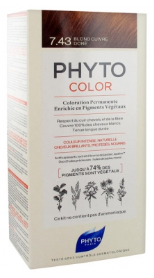 Phyto PhytoColor Permanent Color - Hair Colour: 7.43 Golden Copper Blond
