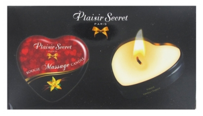 Plaisir Secret 5 Bougies de Massage à la Vanille