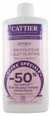 Cattier Gynea Intimate Cleansing Gentle Care 2 x 500ml