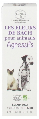 Elixirs & Co Bach Flowers for Agressive Pets Organic 10ml