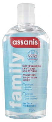 Assanis Family Gel Hydroalcoolique 250 ml