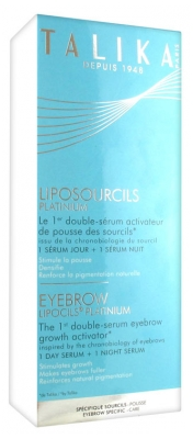 Talika Eyebrows Lipocils Platinium Day and Night Serum