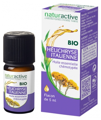 Naturactive Essential Oil Italian Helichrysum (Helichrysum italicum (Roth) G. Don.) 5ml