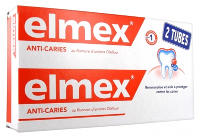 Elmex Anti-Cavities Toothpaste 2 x 125ml