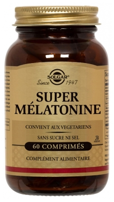Solgar Super Melatonin 60 Tablets