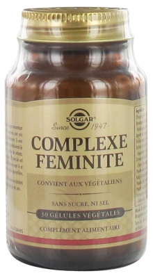 Solgar Feminity Complex 30 Vegetable Capsules