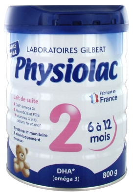 Physiolac 2 From 6 to 12 Months 800g