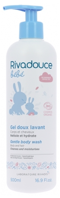 Rivadouce Baby Organic Gentle Washing Gel 500ml