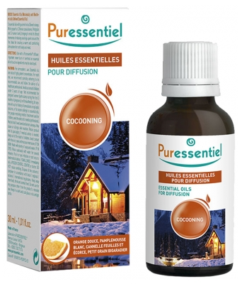 Puressentiel Essential Oil for Diffusion Cocooning 30ml