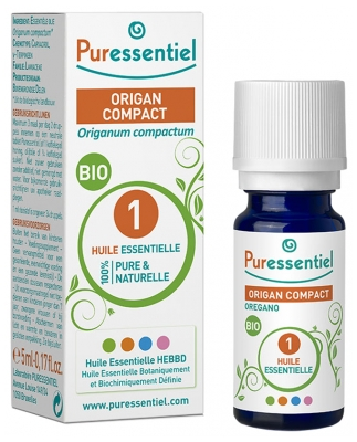 Puressentiel Essential Oil Compact Oregano Organic 5ml