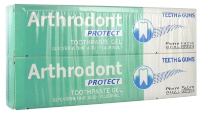 Arthrodont Protect Gel Dentifrice Lot de 2 x 75 ml