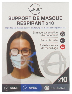 Le Comptoir des Tendances Breathing Mask Holders 10 Holders