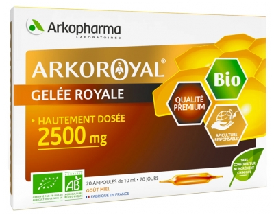 Arkopharma Arko Royal Jalea Real 2500 mg Bio 20 Ampollas