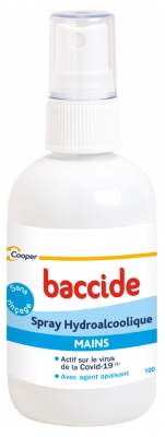 Baccide Spray Hydroalcoolique Mains 100 ml