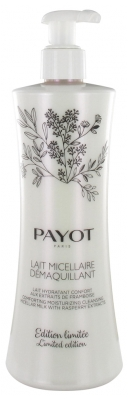 Payot Les Démaquillantes Lait Micellaire Démaquillant Comforting Moisturising Cleansing Micellar Milk with Raspberry Extracts 400ml Limited Edition