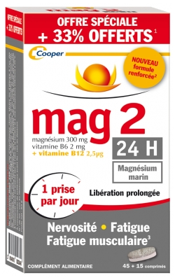 Mag 2 24H Enhanced Formula 60 Tablets