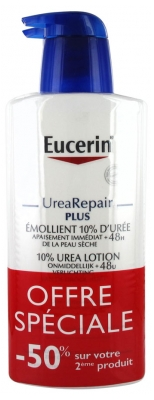 Eucerin UreaRepair PLUS 10% Urea Emollient Lotion 2 x 400ml