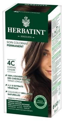 Herbatint Permanent Dye Care Of 8 Plant Extracts 150ml