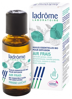 Ladrôme Organic Essential Oils For Fresh Air Diffusion 10ml