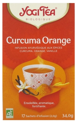 Yogi Tea Kurkuma Orange Bio 17 Beutel