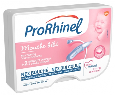 ProRhinel Baby Nose Blower + 2 Soft Nozzles
