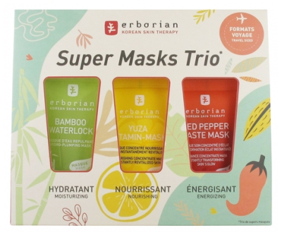 Erborian Kit Super Masks Trio