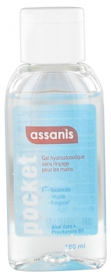 Assanis Pocket No-Rinse Hydroalkoholisches Handgel 100 ml