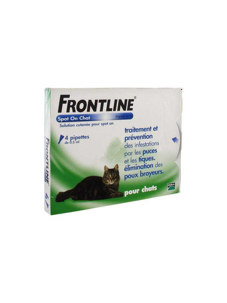 frontline spot on katze 4 pipetten. Black Bedroom Furniture Sets. Home Design Ideas