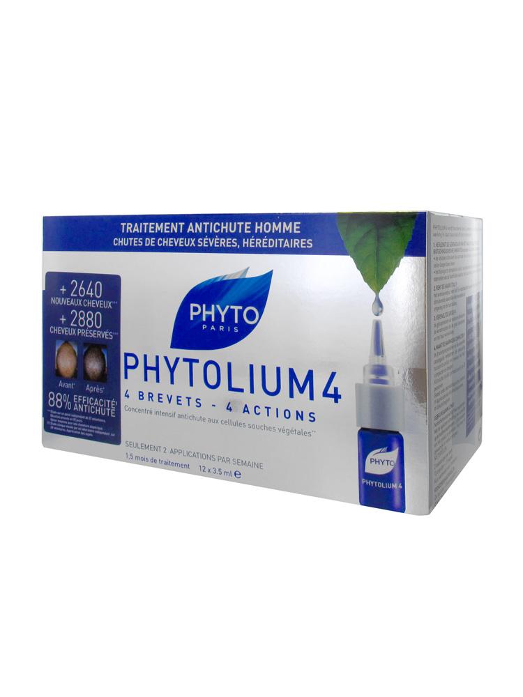 Phyto Phytolium 4 Densifying Treatment Serum Men 12 X 3 5ml
