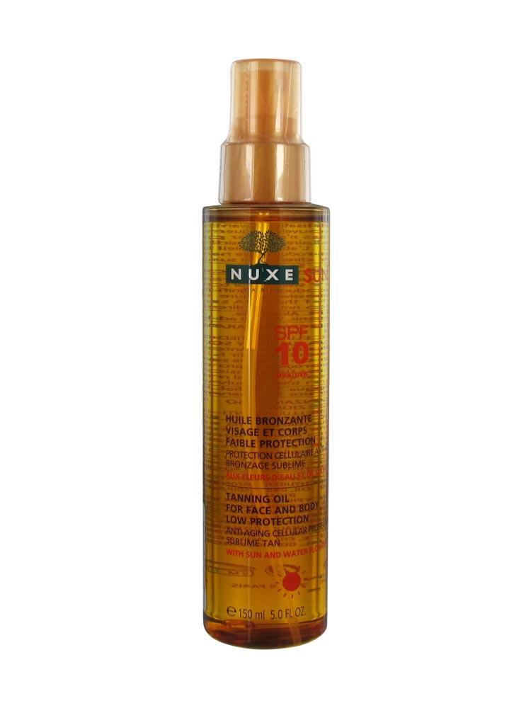 huile nuxe bronzage
