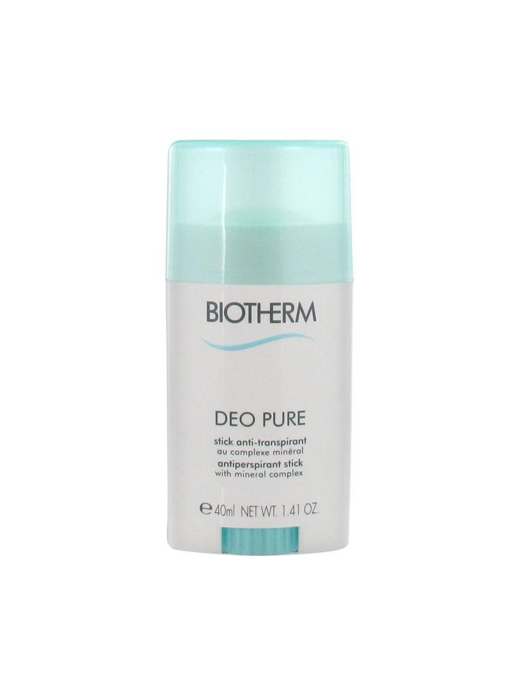 biotherm deo pure antiperspirant stick 40ml buy at low. Black Bedroom Furniture Sets. Home Design Ideas