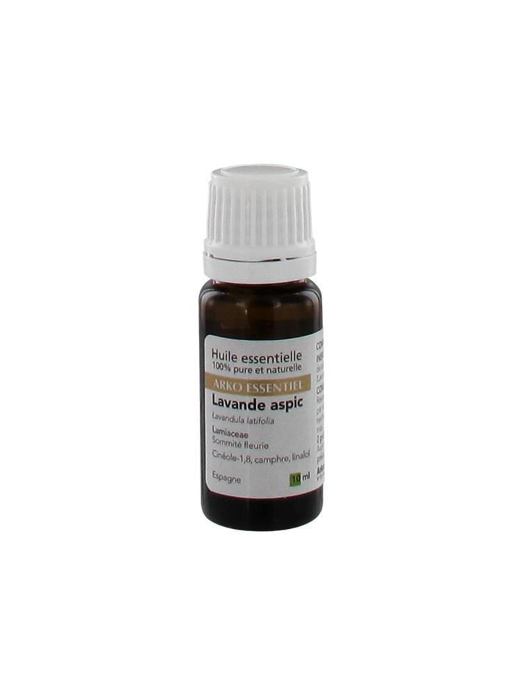 Arko essentiel huile essentielle de lavande aspic 10ml - Prix huile essentielle de lavande ...