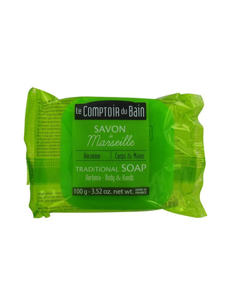 Le comptoir du bain savon de marseille verveine 100 g for Le comptoir du meuble bruxelles
